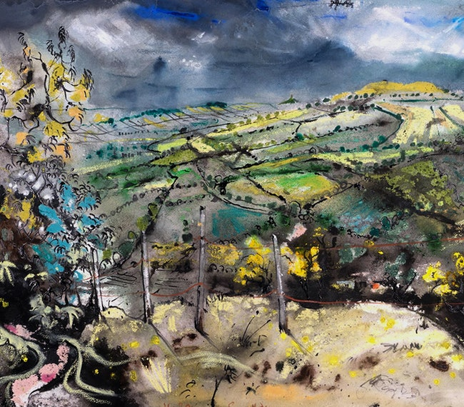 Planet Paintings by Luke Piper